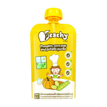 PEACHY Puree Pumpkin Corn Milk & Potato Pouch - 110gr