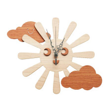 NAIL YOUR ART Sunny Smile Wall Clock Unik Artistik/30x30Cm