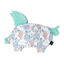 LA MILLOU Sleepy Pig Pillow - La Millou Family Candy Green SP078A