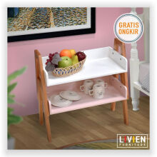 Rak Susun Happiness Set 2 Pcs - LIVIEN FURNITURE