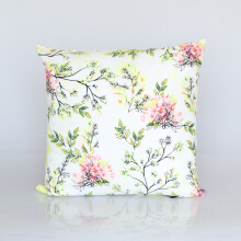 Vivere Cushion Cover Gardenia Twigs Pink 45x45 cm
