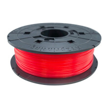 XYZ Jr.& Mini Series PLA Filament - Clear Red