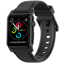 NOMAD Silicone Strap for Apple Watch 42MM - Black
