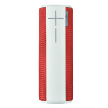 LOGITECH UE BOOM Wireless Bluetooth Speaker - White and Red