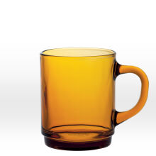 Duralex Versailles Amber Mug 260mL - Set of 6