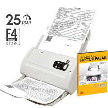 PLUSTEK Scanner SmartOffice PS283 + Software Scan Faktur Pajak