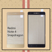CASA Tempered Glass Warna / Color for Redmi Note 4 Snapdragon [Full Cover] -