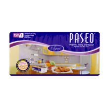 PASEO Elegant Tissue Towel Interfold 150's Multi Pack  (1 set = isi 5 pcs)