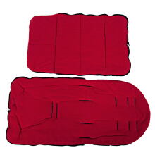 Babies Sleeping Bag Stroller Mat Foot Cover(Red)