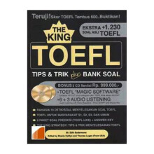 The King Toefl; Tips & Trik Plus Bank Soal - Mr. Edhi Sudharmono - 9789797956875
