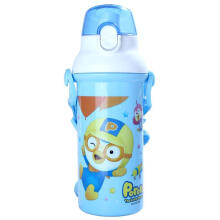 PORORO School Time Water Bottle - Blue