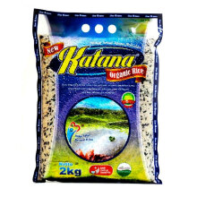 KATANA ORGANIC RICE Black + Brown Rice 2kg