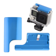 1Pcs Aluminum Alloy Back Door Clip Lock Buckle Safety for GoPro Hero 4/3+