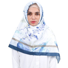 KAMILAA by ITANG YUNASZ Square Hijab - Blue Canvas
