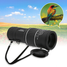 30 X 52 Dual Focus Dual Green Film Powered Big Eyepiece Monocular Telescope