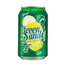 GREEN SANDS Apple Lime 330ml