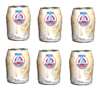 BEAR BRAND White Malt Ready To Drink Can Bundle 140ml x 6pcs