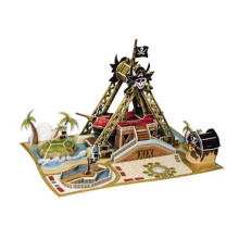 SCHOLAS Pop Out World - Swinging Pirate Ship Ride SP08-0171