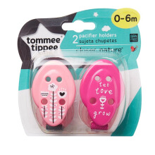 TOMMEE TIPPEE CTN Soother Holder - Pink