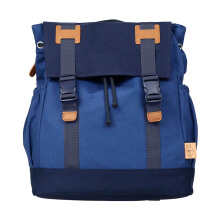 LASSIG Vintage Big Backpack Blue