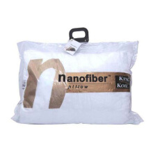 KING KOIL Accessories Nano Fiber Pillow Soft feel - White/48X73+5