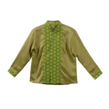 LITTLE SUPERSTAR Koko Shirt 2 Tone LS Green A038B