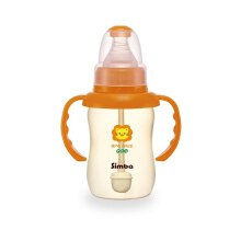 SIMBA PES Standard Neck Calabash Feeding Bottle w/ Handle