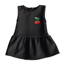 MEATBALL Cherry Dress Black
