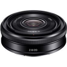 [free ongkir]SONY SEL20F28 E 20mm f/2.8 Black