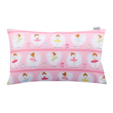 JOYLIVING Cushion Rectangular Balerina Cute Pink 30 cm x 50 cm