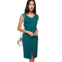 LOVE, BONITO Ferrey Tailored Midi Dress - Green