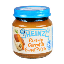 HEINZ Baby Parsnips, Carrot& Sweet Potatoes Jar - 110gr