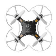 SBEGO - 124 2.4G 4CH 6-Axis Gyro RTF Pocket Quadcopter Aircraft Toy-Black