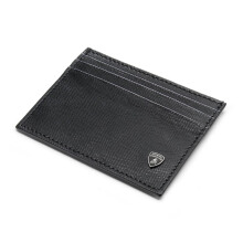 LAMBORGHINI Classic Credit Card Holder Black - [9009646LLB000000XX]