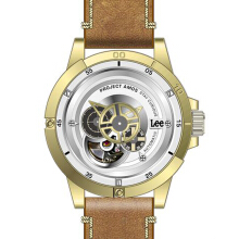 Lee Watch AUTOMATIC LIMITED Jam Tangan Pria Lee Metropolitan Gents M55DIY-GOLD