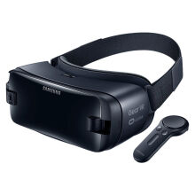 Samsung Gear VR 5.0 SM-R325 With Controller For Galaxy Note 8,s9 s9+ S8 ,S8+ ,Note7,Note5, S6, S6Edge ,S6 Edge+, S7, S7 Edge - Black