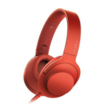 SONY MDR-100AAP RCE Ear On Series - Merah