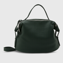 NEW COLLECTION Daytime handbag with back pocket - Green