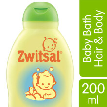ZWITSAL Baby Bath Natural 2In1 Hair&Body 200ml
