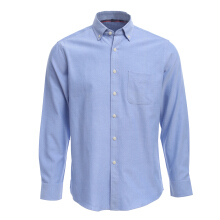 New Design  Men  Pure Color Oxford  Shirt Business Formal Dress Shirts Long Sleeve  Big Size Cloth