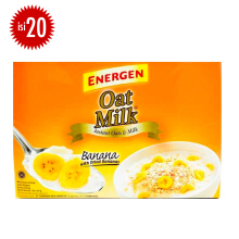 ENERGEN Oatmilk Mix Banana Box 24g x 20pcs