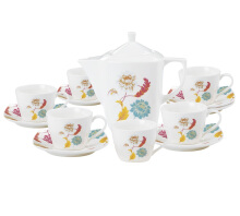 NAKAMI Tea Set Garden Flowers NAR02 - 14 PCS
