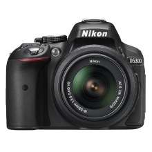 NIKON D5300 Kit 18-55mm VR II - Black