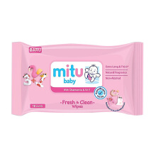 MITU Baby Wipes Pack 50s Regular - Pink