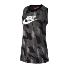 NIKE As W Nsw Tank Mscl Skyscraper - Black