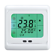 Floureon BYC07.H3 16A Green touch screen thermostat