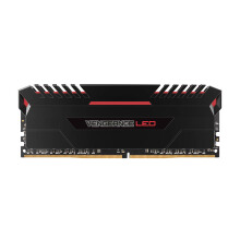 CORSAIR Vengeance LED RED DDR4 PC2666 (2x8GB) - CMU16GX4M2A2666C16R