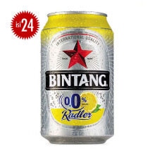 BINTANG Radler 0% Lemon Can Carton 330ml x 24pcs