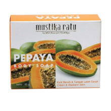 MUSTIKA RATU Pepaya Body Soap 85gr