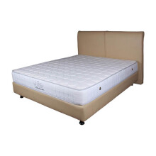 THE LUXE Mattress Reveire Titanium Complete Set - Irish White/120x200
